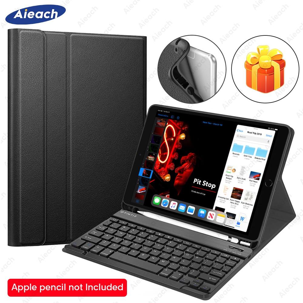 Keyboard Case For iPad Air 3 Air 2 Air 1 Case With Pencil Holder Bluetooth Keyboard For iPad Air 2019 10.5 Air 1 2 9.7 Case