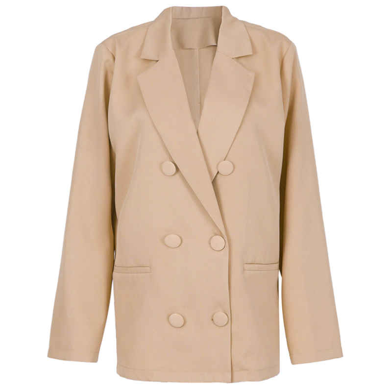 Woman Green White Blazer Oversized Suit Women Plus Size Elegant Jacket Formal Oversize Blazer Women Blazers And Jackets II50XZ