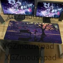 XGZ большой размер мультфильм шаблон коврик для мыши пейзаж серии настольный домашний компьютер игры необходимы клавиатура