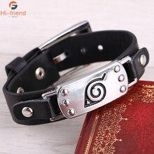 Jewelry Naruto Studio Pierrot konohagakurenosato Logo Bracelet Mens and Womens accessories gift