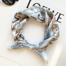 FreeShip 100% Mulberry Silk (53cmX53cm) New fashion color matching cashew silk scarf simple polka dot square