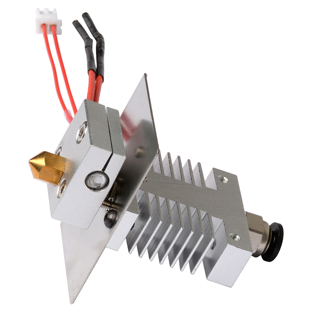 Geeetech 1 In 1 Out Hotend Kit For A10/A20/A30/A30 Pro 3D Printer Avoid Clogging 1.75mm Filament 0.4mm Nozzle Extruder