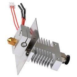Geeetech 1 w 1 out zestaw Hotend do drukarki 3D A10/A20/A30/A30 Pro unikaj zatykania 1.75mm żarnika 0.4mm dysza wytłaczarki w Części i akcesoria do drukarek 3D od Komputer i biuro na