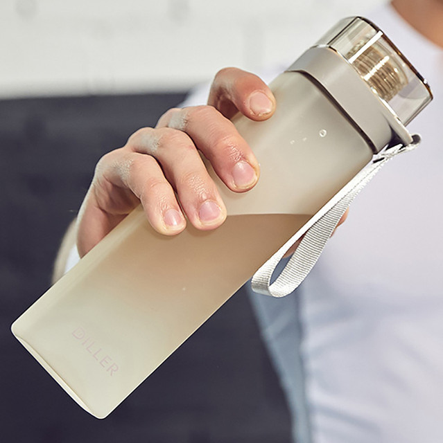 Silicon Square Water Bottle for Cycling/Sports/Fitness