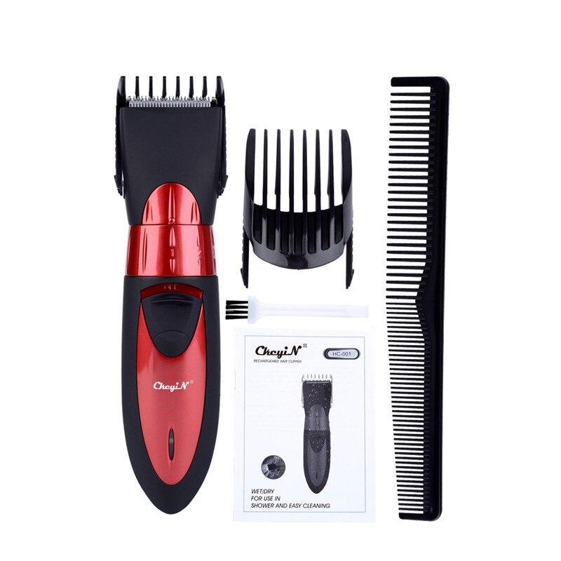 Professional Waterproof Electric Hair Clipper Rechargeable Hair Trimmer 220-240V Beard Trimmer Cutting Machine Men Haircut