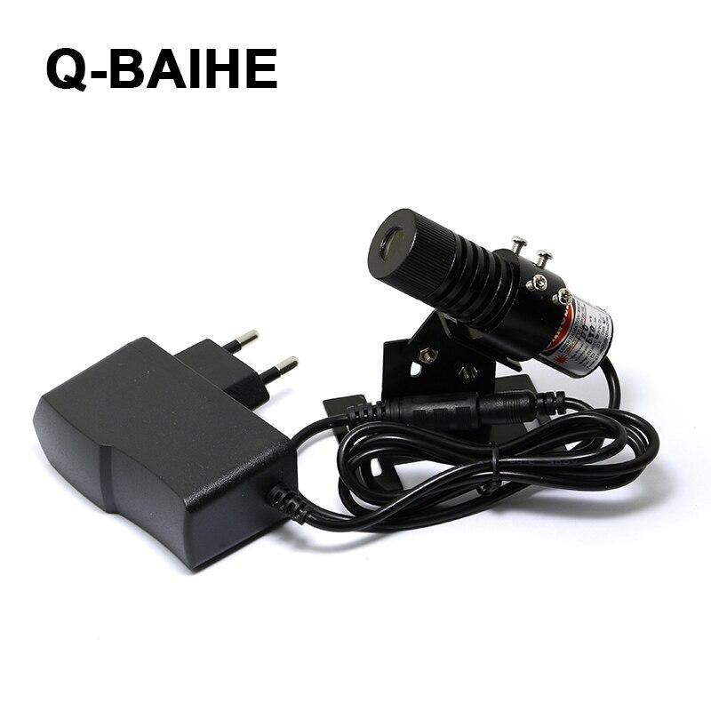 850nm 100mW IR Infrared Laser Focusable Dot Module + 5.0V AC EU Adapter + Mount 22x60mm