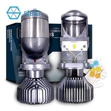 Stella h4 led lens 12V 72W 8000LM 5500k h19 lenses projector high/dipped beam light bulb auto led lamps Car Headlight Bulbs LED