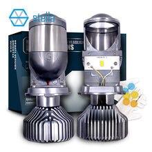 Stella H4 Led Lens 12V 72W 8000LM 5500K H19 Lenzen Projector Hoge/Dimlicht Gloeilamp auto Led Lampen Auto Koplamp Lampen Led