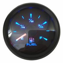 цена на Pack of 1 New Arrival 52mm Fuel Level Gauges 0-190ohm or 240-33ohm 0-180ohm Fuel Level Meters with 8 Kinds Backlight Color