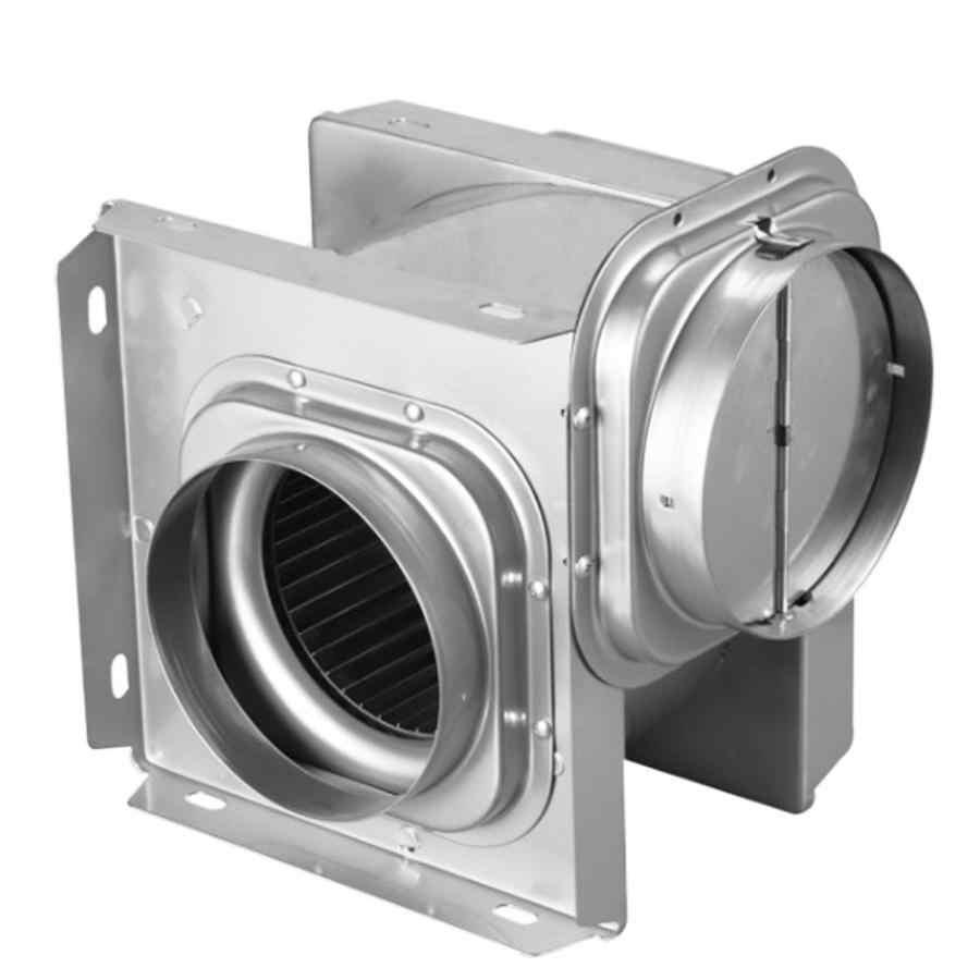 Air Vent พัดลม 4in ไอเสียพัดลมห้องน้ำท่อปกปิดเงียบระบายอากาศระบายอากาศพัดลมมอเตอร์ทองแดงทั้งหมด