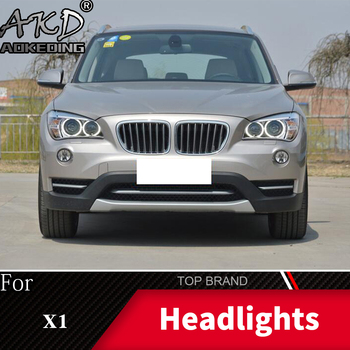Head Lamp For Car BMW X1 E84 2011-2015 Headlights Fog Lights Daytime Running Lights DRL H7 LED Bi Xenon Bulb Car Accessories