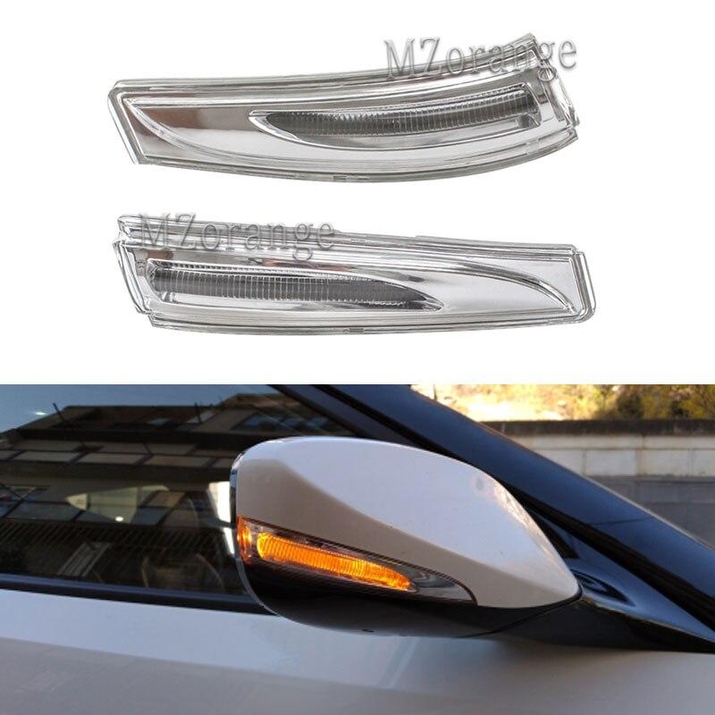 Светодиодный указатель поворота бокового зеркала светильник для Hyundai Elantra Veloster Turbo Avante MD 2010-2015 Автомобильное зеркало заднего вида сигнала зе...
