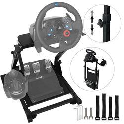 Lenkrad Halter Universal-Folding Lenkrad Montieren G25 G27 G29 und G920 Rad Stehen Pro Kompatibel mit Logitech G25