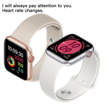 IWO 12 Bluetooth Smart Watch Series 5 1:1 SmartWatch 44mm Case 40mm iOS Android Heart Rate Monitor ECG Pedometer Christmas gift