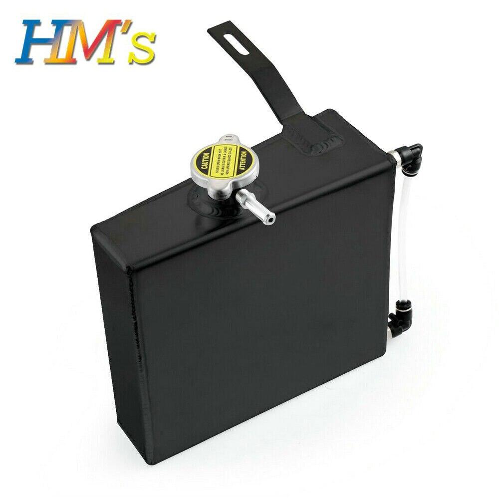 Kit de réservoir de débordement de liquide de refroidissement de radiateur de réservoir d'huile en aluminium chromé 2L de haute qualité pour Supra MK III IV 7MGTE 2JZGT