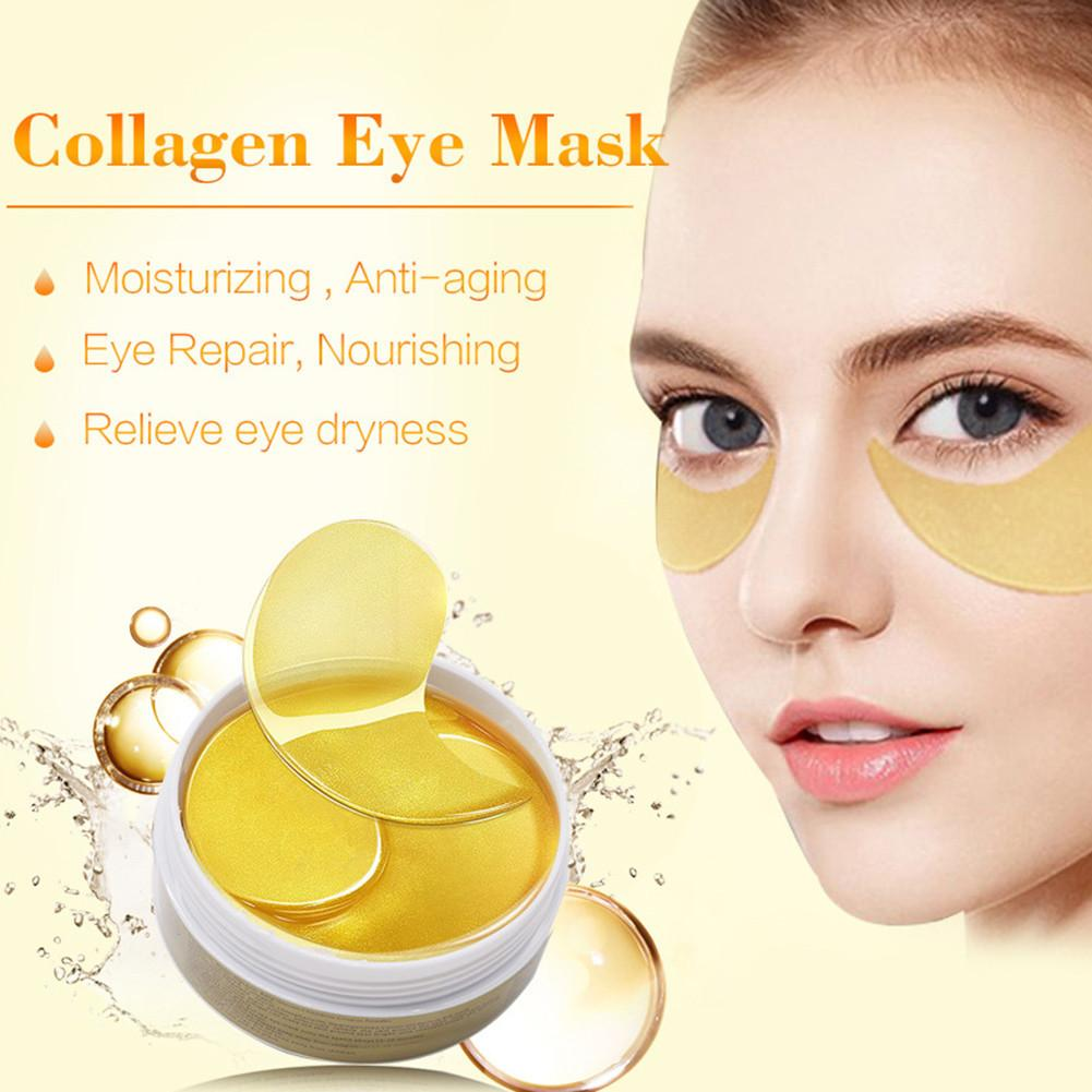 60Pcs Bottle Eye Essence Anti Wrinkle Face Care Collagen Eye Masks Moisturizing Remove Dark Circles Anti Puffiness Eye Patches in Masks from Beauty Health