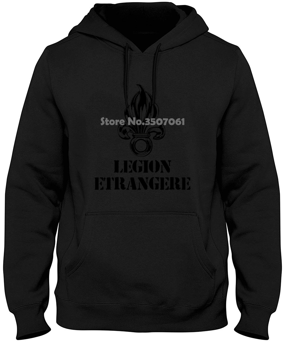 Fashion Cotton Legion Foreign Army France Foreign Legion War Soldiers Infantry Infant Cool Tops Harajuku Hoodies & Sweatshirts