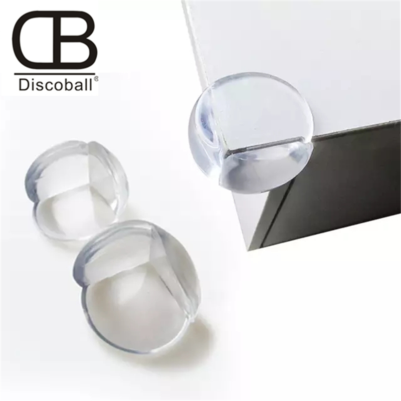 Discoball 5/8/10Pcs Child Baby Safety Silicone Protector Table Corner Edge Protection Cover Children Anticollision Edge & Guards