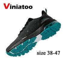Мужские кроссовки для бега брендовые Нескользящие легкие спортивная