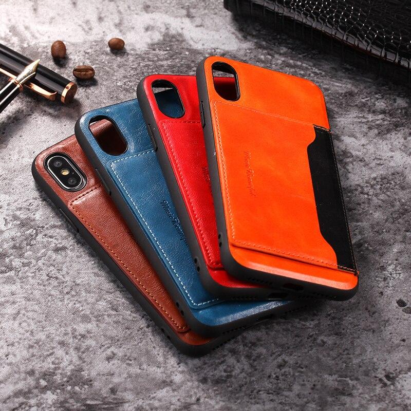 비즈니스 시리얼 백 커버 아이폰 xs 11 프로 맥스 xr xs 맥스 x 6 6 s 7 8 플러스 shockproof 갑옷 전화 백 케이스