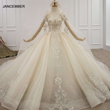 HTL1198 Applique Boot ausschnitt Hochzeit Kleid Mit Schleier Lange Zug Sexy Hochzeit Kleid Perlen Sequin Lace Up Zurück Abito Sposa