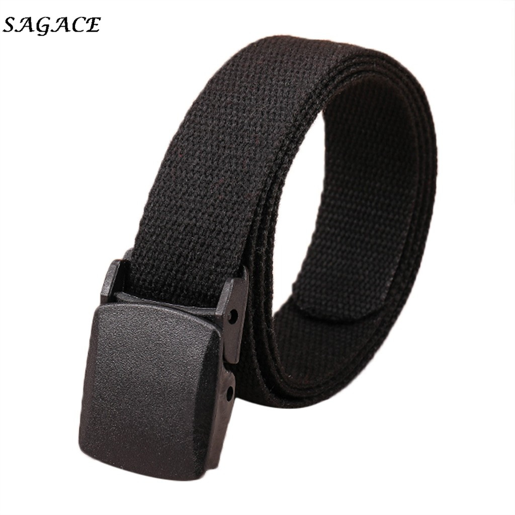 SAGACE Fashion Belts Women Men Casual Waistband Leisure Belt Convient Outdoor Belts Girls Boys Solid Comfortable Belts Ladies
