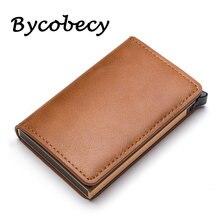 Кредитница кожа банковской карты бумажник Смарт Чехол защиты