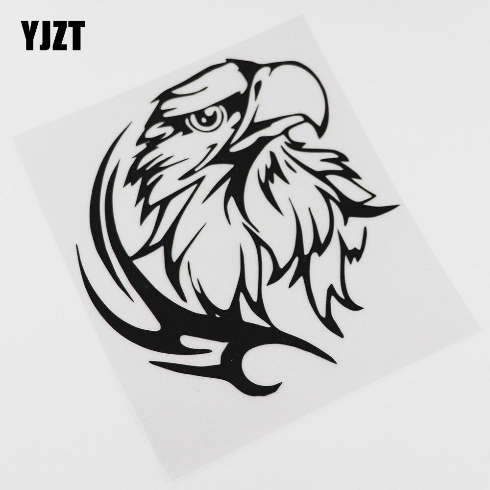 YJZT  15.6CM*16.7CM Decal Sharp TRIBAL EAGLE Decoration Vinyl Car Sticker 13C-0065