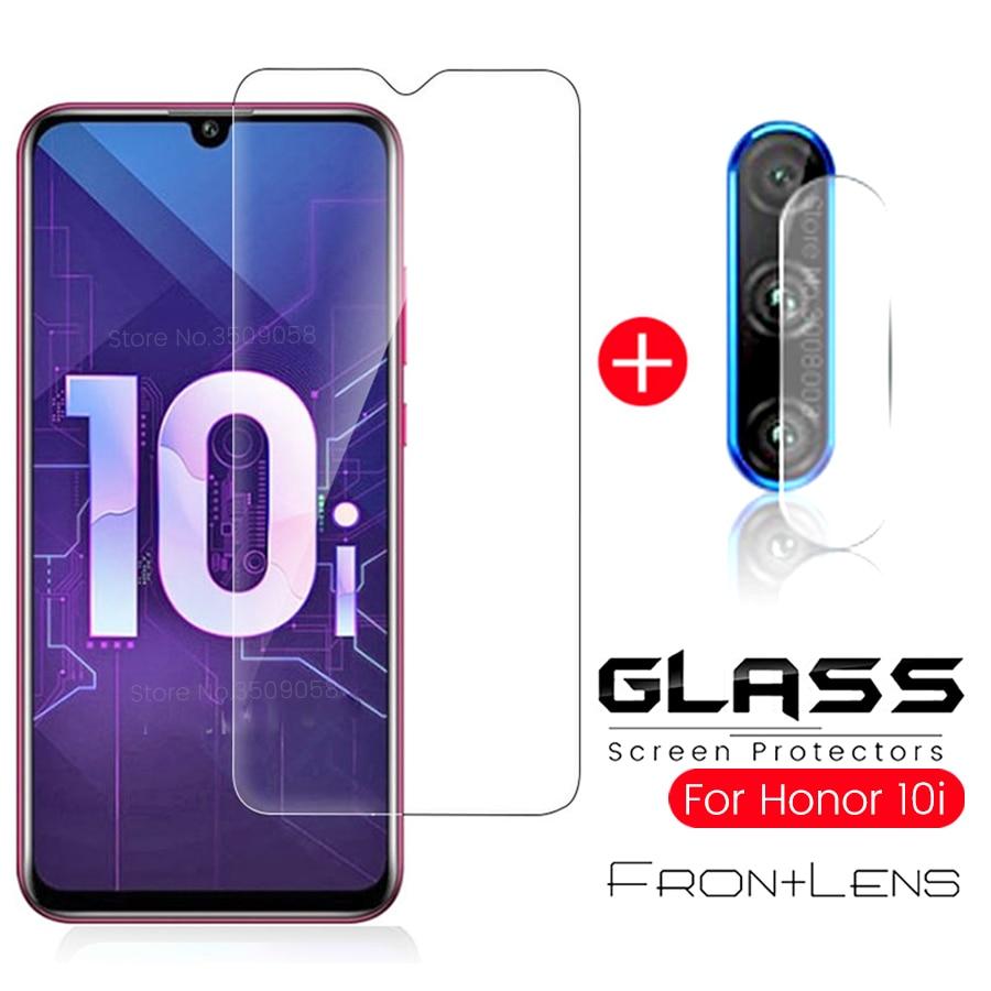 2-in-1 стекло на Honor 10i стекло хонор 10i Camera Protective Glass Honor 10i 10lite 10 Light Lite 9a 9s 9c Screen Prtector Film