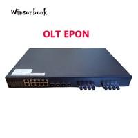 8x10/100/1000M EPON OLT with 8 PON 4x10GE SFP intelligent CATV network management function exchange optical cat compatible ONU