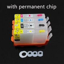 Пустой перезаправляемый чернильный картридж для hp 903 902 904 905 с чипом OfficeJet 6964,6965, 6966,6968, 6970,6971, 6974 принтера