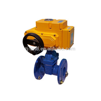 Explosion-proof multi turn flow control valve electric motor operate 4 inch gate valve actuator