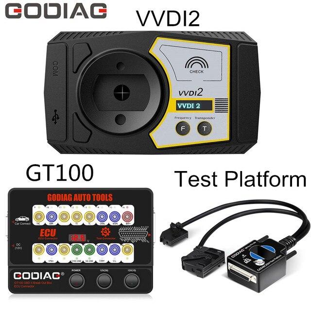 GODIAG صندوق الفصل GT100 OBD II ، برمجة لسيارات BMW CAS4 / CAS4 ، يعمل مع XHORSE Commander Key Programmer ، الإصدار الكامل