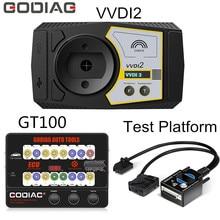 GODIAG GT100 OBD II Break Out Box per BMW CAS4 / CAS4 + lavoro di programmazione con XHORSE Commander Key Programmer versione completa