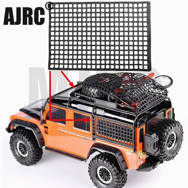Резиновая багажная сетка украшение окна для RC Гусеничный осевой SCX10 90046 RC4WD D90 Рейф R10 D90 Traxxas TRX4 слэш UDR TRX-6 G63