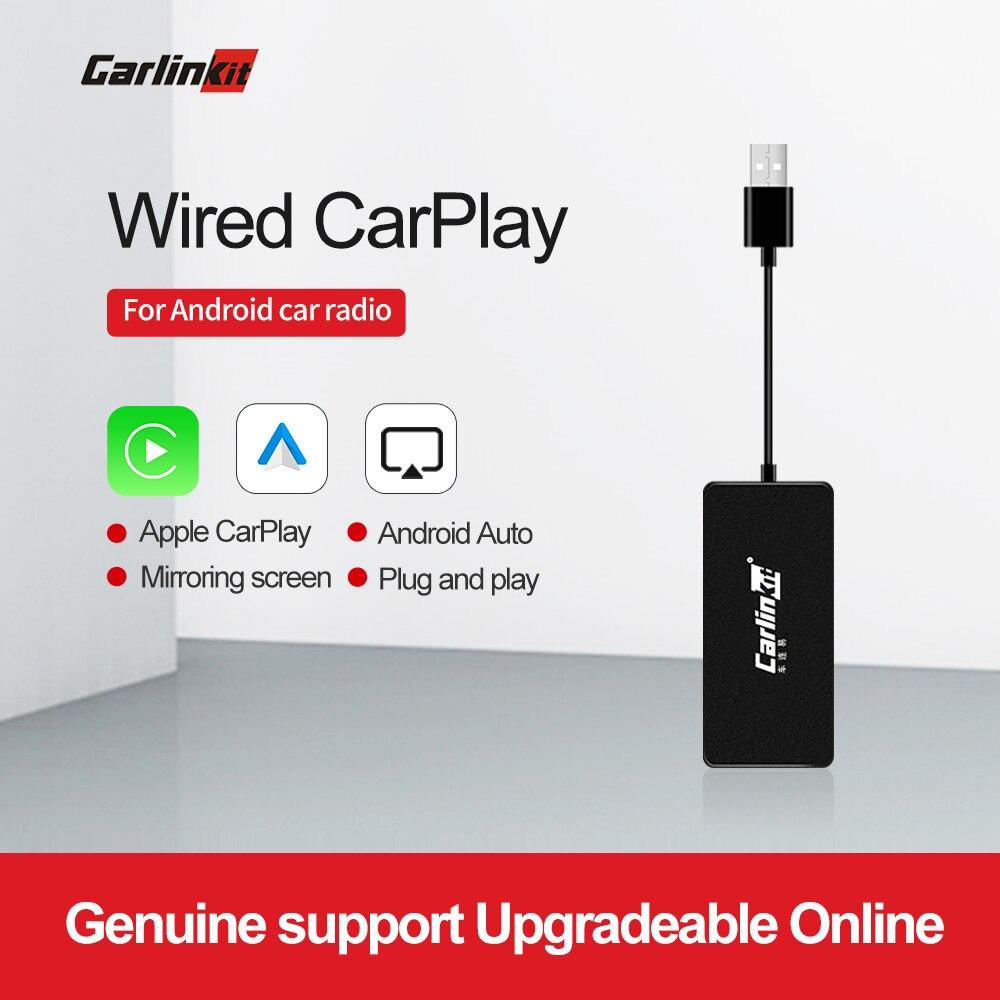 Carlinkit Apple CarPlay/Android Авто USB ключ для системы Android автомобильный стерео головное устройство Поддержка Зеркало-Ссылка онлайн карта музыки