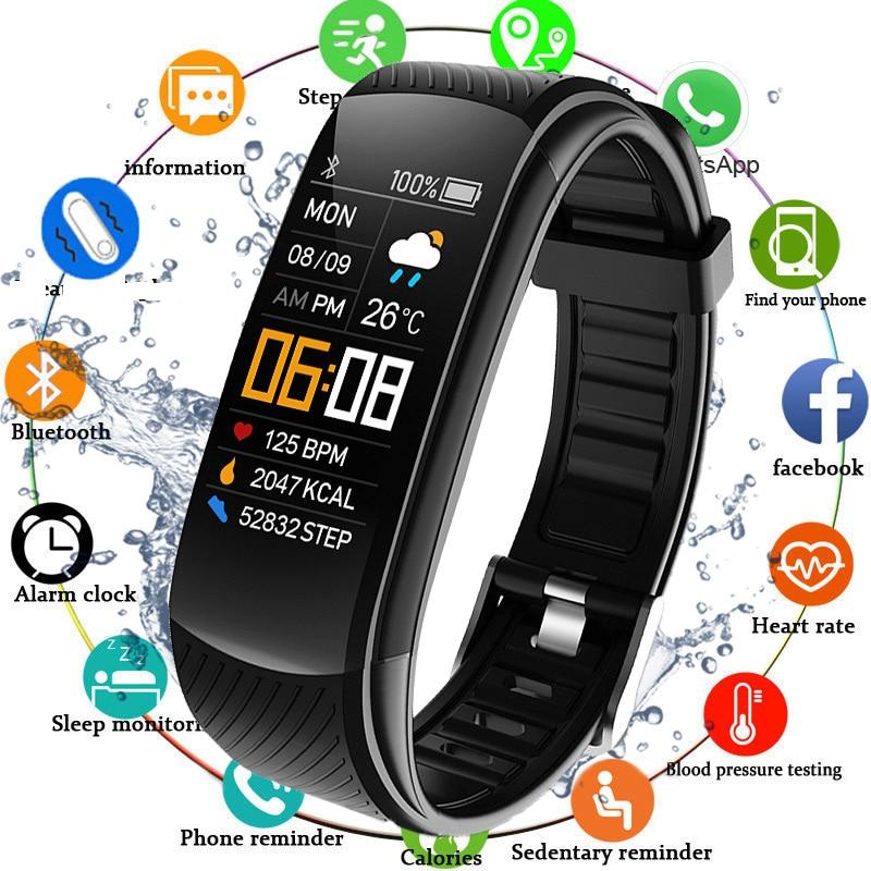 2020 Smart Watch Men Women Sport Smartwatch Blood Pressure Heart Rate Monitor Electronic Fitness Tracker Watch Ip67 Waterproof|Smart Watches|   - AliExpress