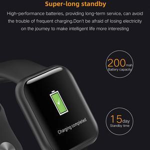 Image 5 - Greentiger P80 Smart Watch Women IP68 Waterproof Heart Rate Monitor Fitness Tracker Blood Pressure Smartwatch VS B57 P68 S226