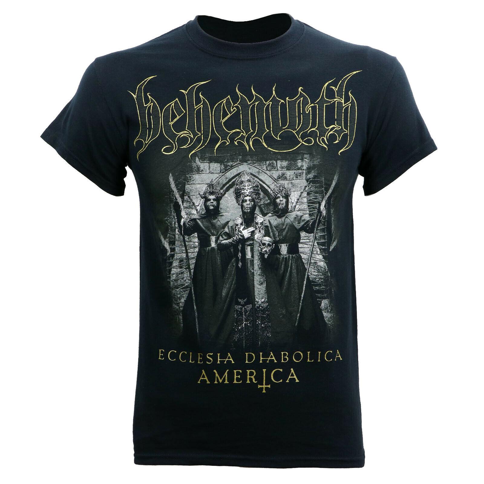 Authentic BEHEMOTH Ecclesia Diabolica America Tour T-Shirt S-3XL NEW