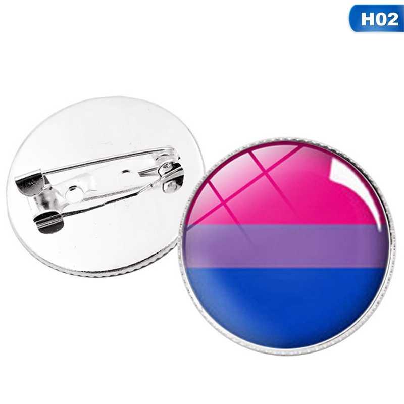 LGBT Pride Regenboog Vlaggen Intersex Pride Aseksuele Pin Metalen Badges voor Rugzakken Broche Sieraden