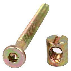 10 zestaw M6x70mm klucz sześciokątny gniazdo napędu śruba meblowa z nakrętką lufową M6x12mm w Zestawy nakrętek i śrub od Majsterkowanie na
