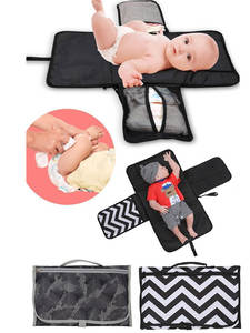 Diaper-Bag Cover-Mat Changing-Pad Travel Multifunction Waterproof Portable Clean-Hand