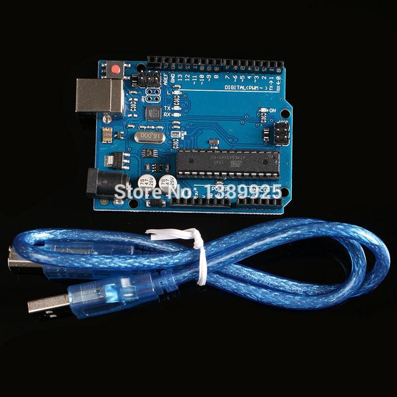 R3 Board (with LOGO) MEGA328P ATMEGA16U2 20PCS  R3 Board + 20PCS Cables