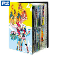 80/240PCS Cartoon Pokemon Cards Album Book Cool TAKARA TOMY french Game Card VMAX GX EX Holder Collection Folder kids Toys Gift
