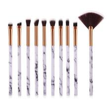 Professional Makeup Brush Kit Eye Shadow Liner Full Make Up Brushes New Brand Soft Hair Eyes Eyebrow Pencil