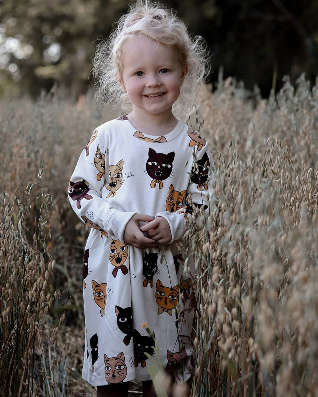 MINI Brand Kids T-shirts 2020 New Autumn Girls Heart Pattern Dress Fall Long Sleeve Cotton Fashion Baby Girl Boys Casual Dresses 4