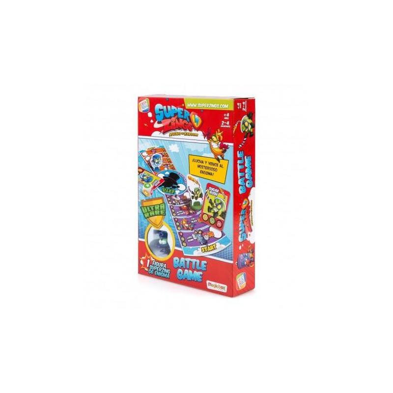 Superzings Battle Game Riddle Toy Store