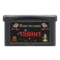 32 Bit Trò Chơi Hộp Mực Tay Cầm Thẻ Dành Cho Máy Nintendo GBA Biên Soạn Bộ Sưu Tập 150 Trong 1 Phiên Bản Tiếng Anh