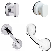 Safe-Grip Suction-Cup Bathtub Shower-Handle Handrail No-Drilling Anti-Slip with for Glass