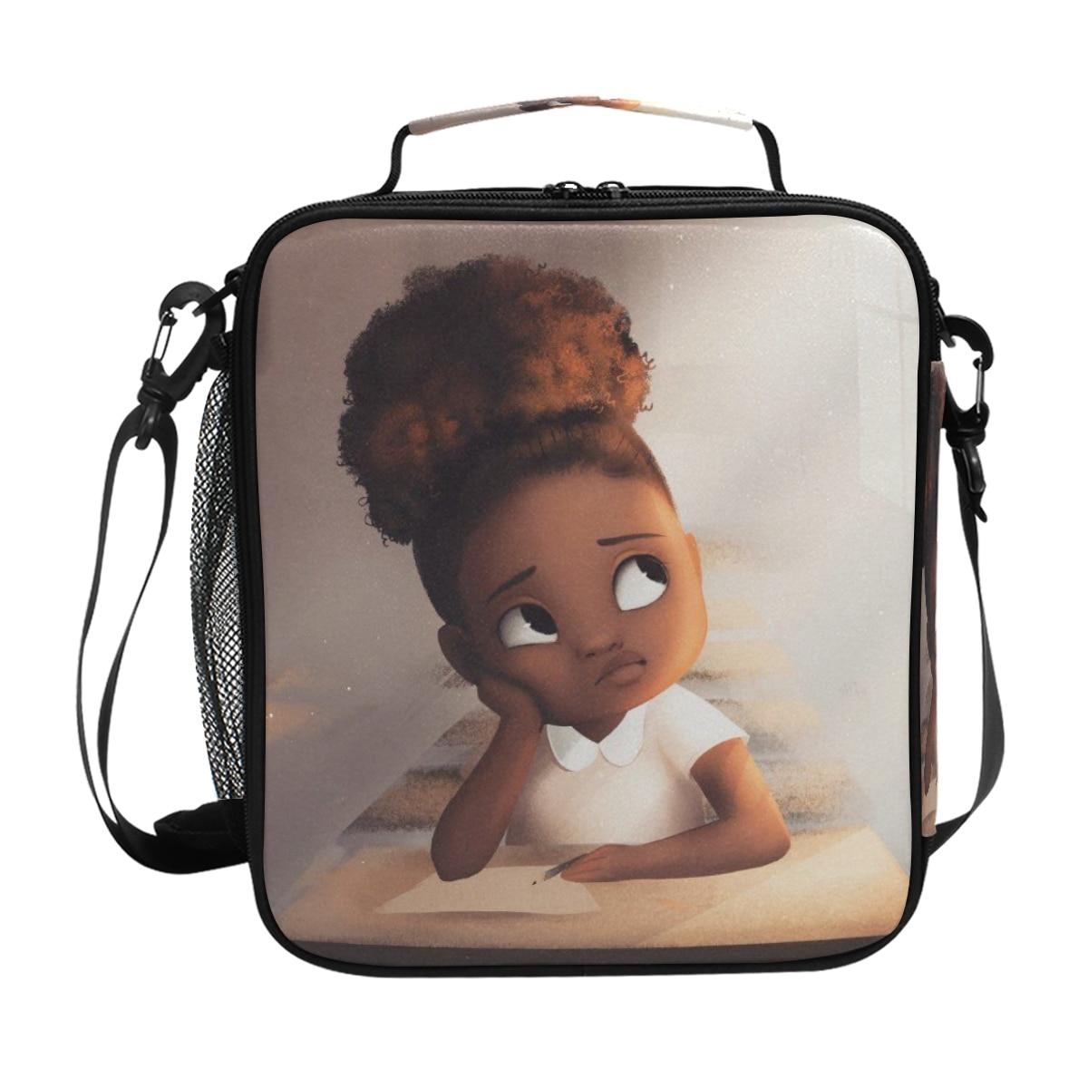 dos desenhos animados meninas sacos de piquenique